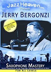 Anzeige Amazon: Jerry Bergonzi, Jazz Heaven, Saxophone Mastery for all levels