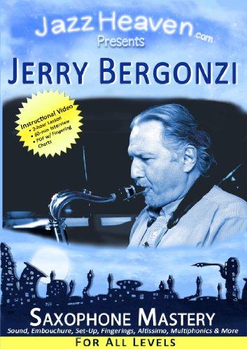 Saxophon Spielen Lehr-DVD Jerry Bergonzi Saxophone Mastery Video Jazz-Saxophon Unterricht Workshop Spiel-Technik Jazz-Methode Übungen Saxofon Spielen Lernen Alt-Saxophon Tenor-Saxophon Saxofonspielen
