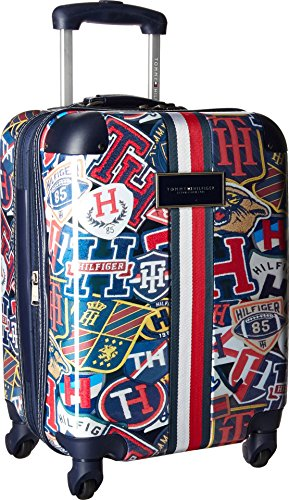 Tommy Hilfiger TH-660 Vintage Rally 21' Upright Suitcase Vintage Rally Print One Size