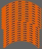 Kit gráficos adhesivos llantas compatibles para KTM SX SXF EXC 18' 19' 21' (02) brillante