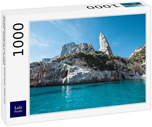 Lais Puzzle Spiaggia paradisiaca di Cala Goloritze, Golfo di Orosei, Sardegna, Italia 1000 Pezzi