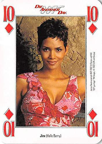 Halle Berry trading card gaming Jinx 007 James Bond Die Another Day #10D