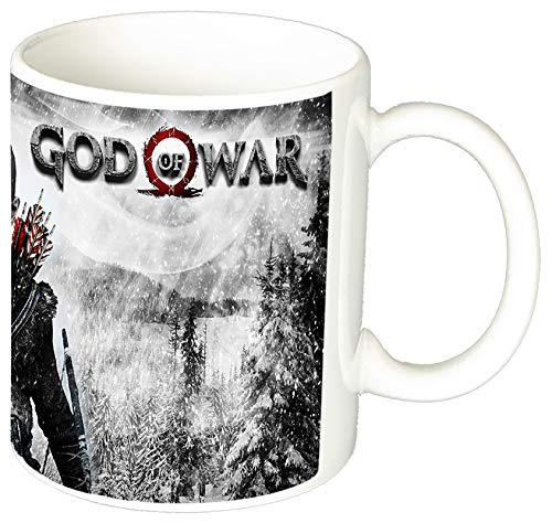 MasTazas God of War Kratos and Atreus B Taza Ceramica 11 oz ≈ 325 ml