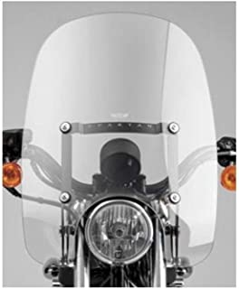 National Cycle 07-14 Harley FXDB3 Spartan Quick-Release Windshield (18-1/2