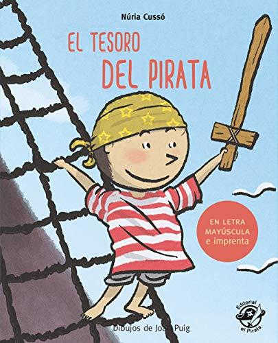 El tesoro del pirata: En letra MAYÚSCULA y de imprenta: