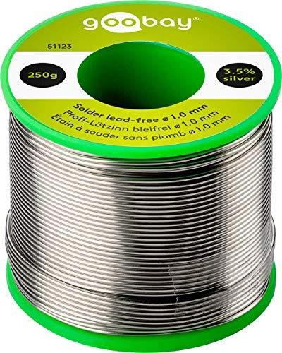 L�tzinn � 1,0 mm 250 g Rolle 51123 Material :L-Sn / Ag 3,5% / Cu 0,7% LZ 1.0 250g fixpoint - lead free,