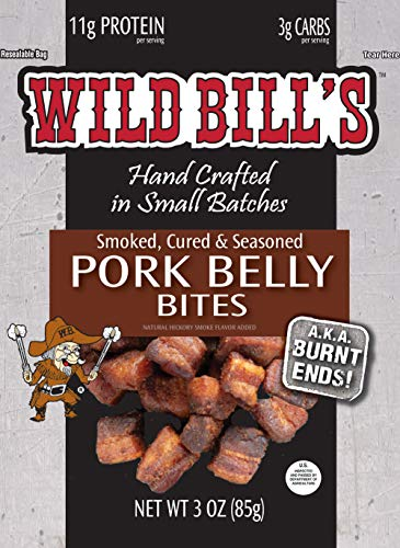 Wild Bill's Pork Belly Bites 3 Ounce Pack (3 count)