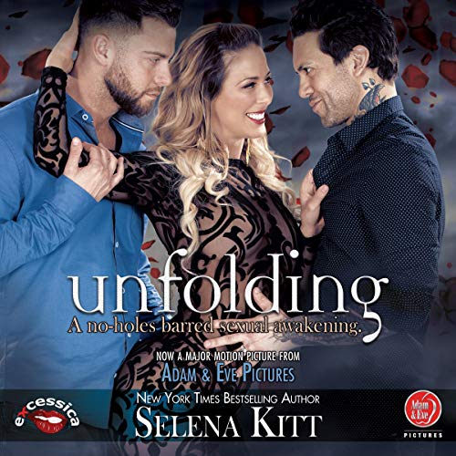 Unfolding: A BDSM Erotic MFM Menage audiobook cover art