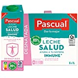 Pascual – Leche Desnatada Salud Bienestar Animal – 6 x 1L