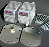 NV4500 transmission cooler with covers