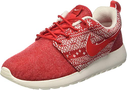 Nike, Women, Sports Shoes, wmns roshe one winter, red (university red/unvrsty red-sl),4 UK