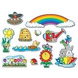 Carson Della Spring Bulletin board pieces