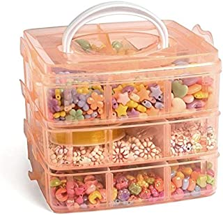 Ultimate Jewelry Making Bead Kit - Includes Storage Box and Over 1000 Beads - Perfect Gift for Girls