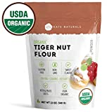 Organic Tiger Nut Flour - Kate Naturals. Perfect for Cookies, Baking. Sweet Flavor, Smooth Texture....