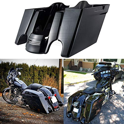 Detachable Two Up Tour Pak Pack Mounting Rack Fit For Harley Electra Glide 14-19
