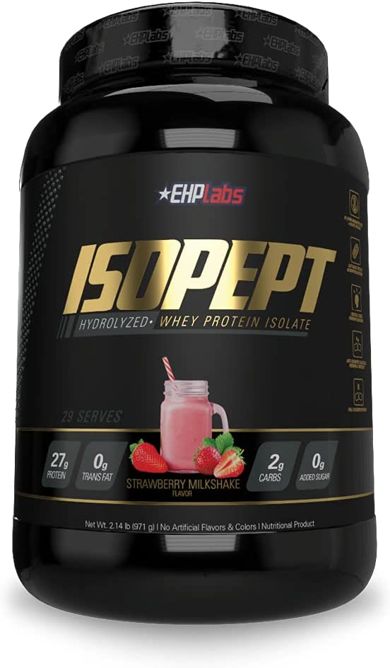 IsoPept Hydrolyzed Whey Protein Powder by EHPlabs