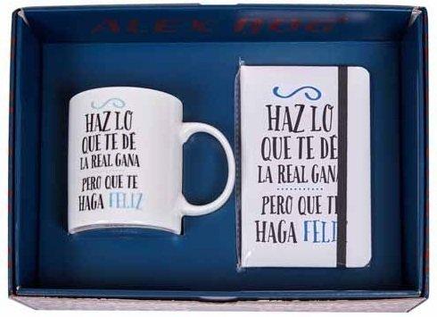 DRW - Pack Regalo Taza y libreta Haz lo Que te dé la Real GANA ...