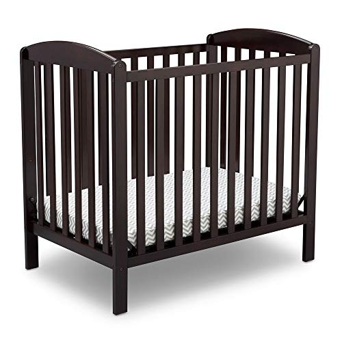 Delta Children Emery Mini Convertible Baby Crib with...