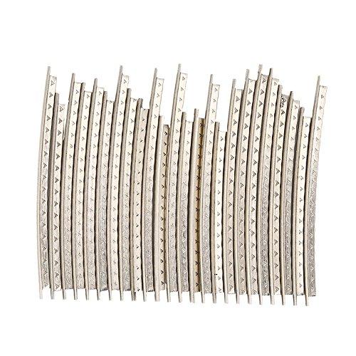 24 Stücke Bund Draht, E-Gitarre Kupfer Fret Wire 2,2mm Breite