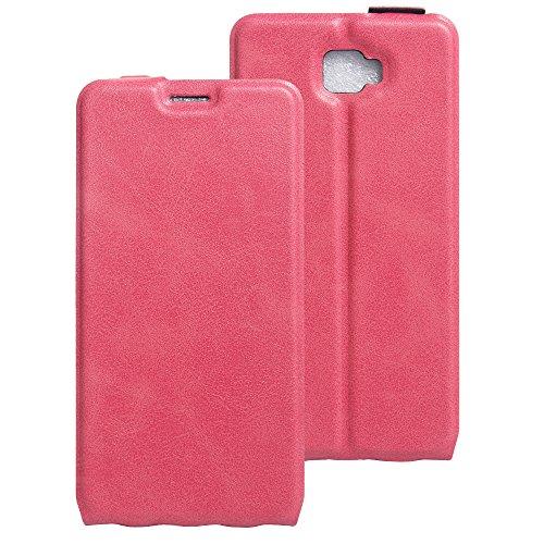 Litao-Case CN Hülle für Archos 55 Cobalt Plus hülle Flip Leder + TPU Silikon Fixierh Schutzhülle Case 2