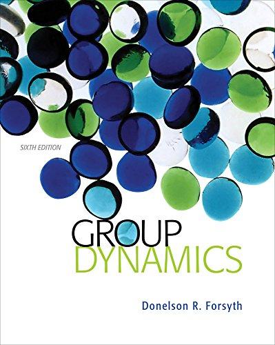 Group Dynamics (MindTap Course List)