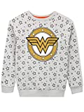 DC Comics Sudadera para niñas Wonder Woman Gris 6-7 Años