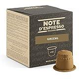 Note d'Espresso - Ginseng - Cápsulas de Bebida Instantánea - Compatibles con Cafeteras Nespresso*