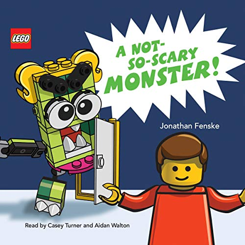 A Not-So-Scary Monster! cover art