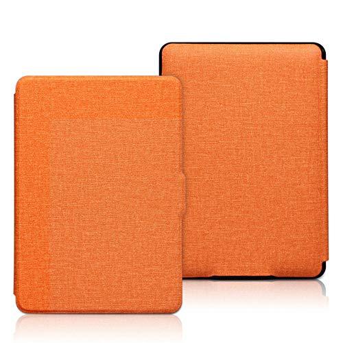 WDBHTAO Lightest Kindle 10Th Generation 2019 Case for Kindle 10Th 2018 8Th 2016 Funda Capa for Kindle Paperwhite 4 3 2 1 Cover, Orange,J9G29R