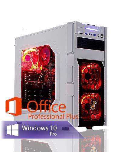 Ankermann Rabbit Gaming Gamer PC Intel Core i7-9700F 8X 3.00GHz NVIDIA GeForce GTX 1660 SUPER OC 6GB 16GB RAM 480GB SSD 1TB HDD Windows 10 PRO W-LAN Office Professional