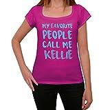 Femme Tee Vintage T Shirt My Favorite People Call Me Kellie Small Rose