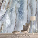 現代のミニマリストエンボス壁紙ロール 100x50cmマーブル柄の不織布壁紙壁画ウォールペーパーホームデコレーション不織布壁紙のためにリビングルームの背景 (Color : 100x50cm)
