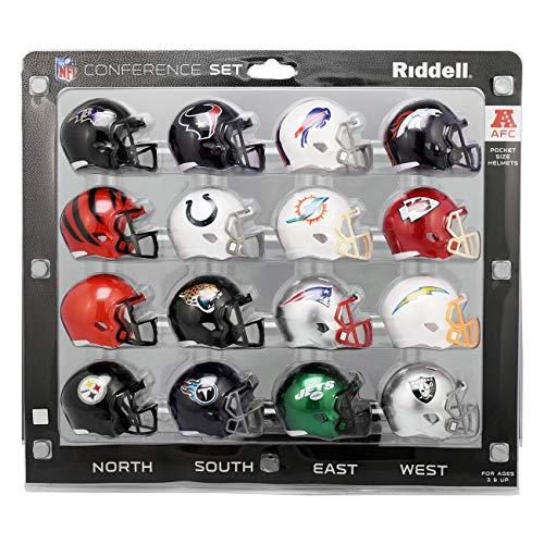 Riddell 8056167 Helme im Taschenformat, Mehrfach