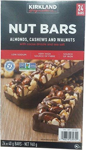 Kirkland Signature Variety Nut Bars, 960 g