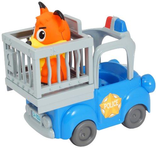 Ouaps - 61144 - Jouet De Premier Age - Jojo Et Son Camion De Police