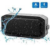 Bluetooth Waterproof Shower Speaker, Mbuynow Portable Wireless Speaker with 8 Hours Playtime IPX7