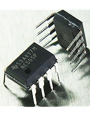 Texas Instruments NE555P temporizador de precisión única, DIP8, 0.5MHz