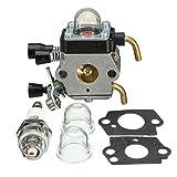 Alamor Carburateur Carb pour Le Taille-Haie Hs45 Stihl Fs38 Fc55 Fs310 Zama C1Q-S169B