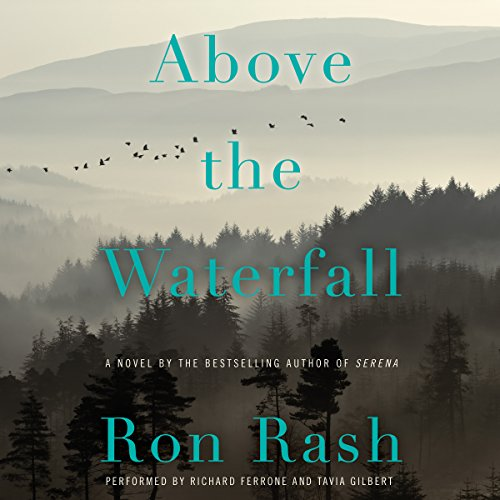 Above the Waterfall audiobook cover art