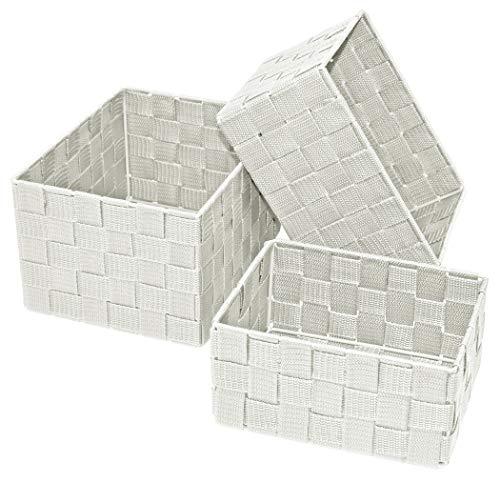 Lashuma - 3 cajas vacías para estantería