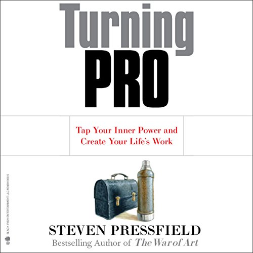 Turning Pro audiobook cover art