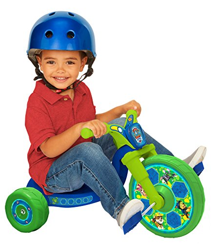 "Paw Patrol 10"" Fly Wheels Junior Cruiser Ride-On Pedal-Powered Toddler Bike/Trike, Ages 2-4, for Kids 33""-35"" Tall and up to 35 Lbs"