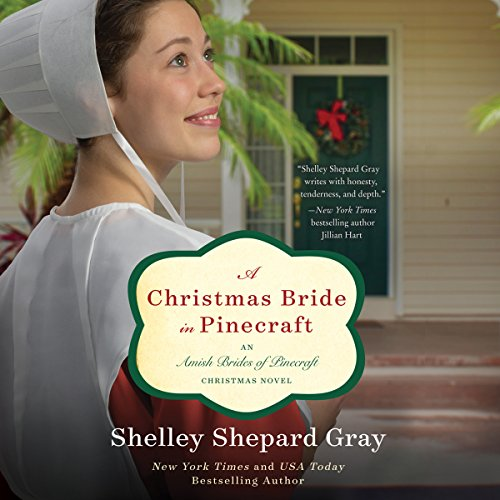 A Christmas Bride in Pinecraft audiobook cover art