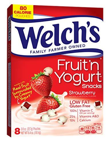 - Welch's Fruit 'n Yogurt Snacks, Strawberry, 8 Ct