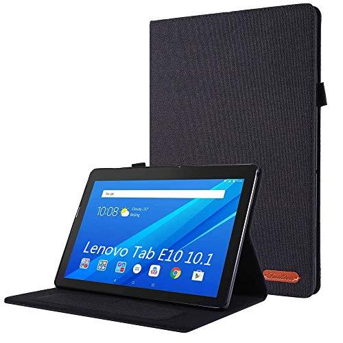 KATUMO Funda para Lenovo Tab E10 10.1 Pulgadas Dura Fundas para Lenovo Tab E10 TB-X104F Carcasa con Soporte Funcion