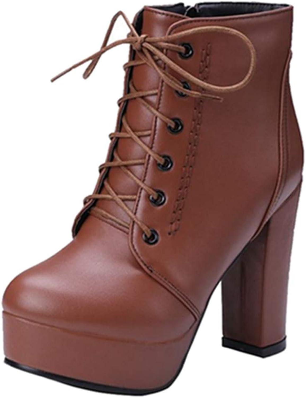 SJJH Women Fashion Ankle Boots Lita Boots