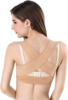 Paskyee Chest Brace Up for Women Posture Corrector Shapewear Tops Breast Support Bra,  Prevent Chest Sagging