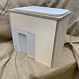 Build-Your-own - Kit de inodoro para compostaje de Little Floozy (separador de purpurina azul)