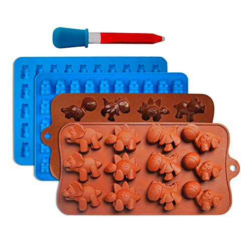 gummy bear mold | gummy dino mold  silicone molds for gummies candy molds amp gelatin molds for gummy bear candy molds
