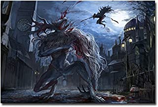 Lawrence Painting Bloodborne Art Canvas Poster Print Game Picture For Living Room Decoration 16
